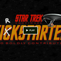 Star Trek Continues Webseries Kirkstarter!