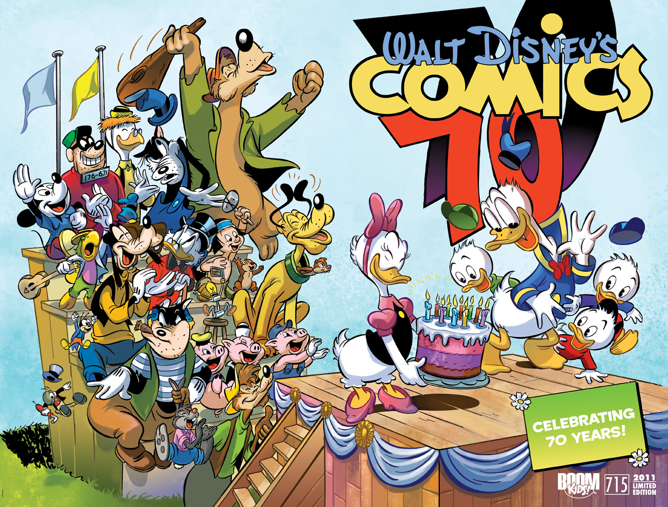 Disney Expands Its Comics Program