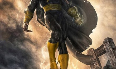 Dwayne Johnson Unveils Black Adam Artwork