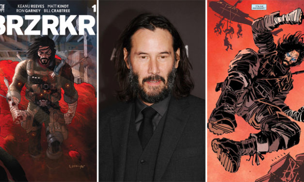 Keanu Reeves To Star In 'BRZRKR' Film & Anime Series At Netflix Based On His Comic Books