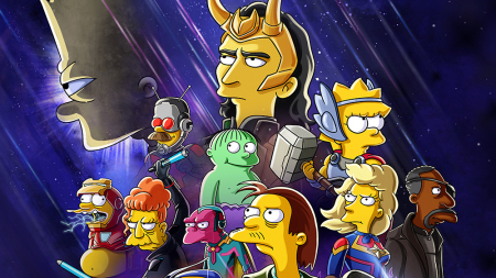 How 'The Simpsons' Used 'Loki' to Invade the Marvel Cinematic Universe
