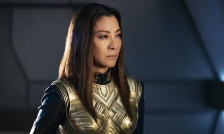 Michelle Yeoh Stands Alone