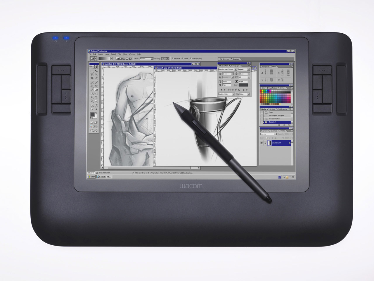 Transitioning From Paper to Pixels: Learning to Draw With a Wacom Tablet