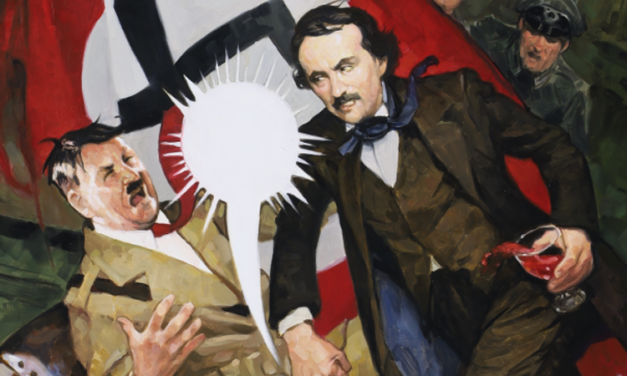 'Edgar Allan Poe's Snifter Of Terror': First Look At Lush New Art For Ahoy's Boozy Comic