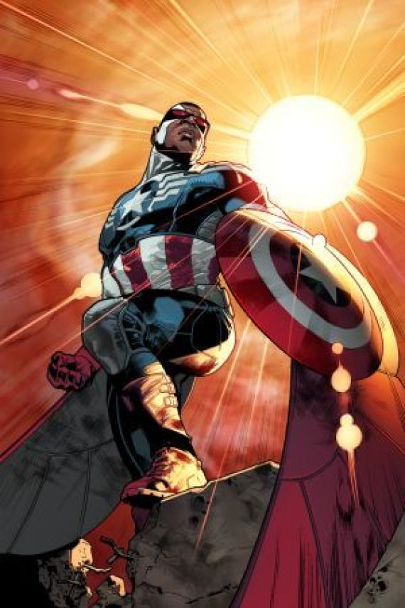 The New Captain America Is Black