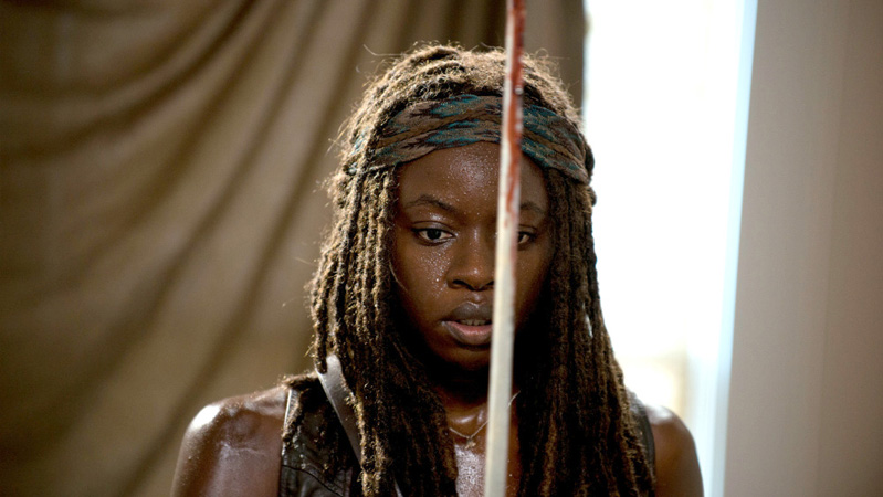 "<span class=""quo"">'</span>Walking Dead' Star Danai Gurira to Exit Series"
